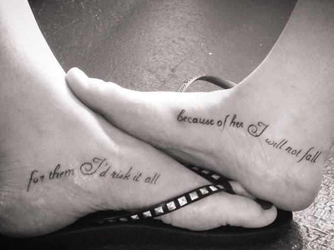 Tochter tattoo für 30 schöne