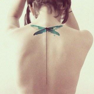 45 acuarelas tatuadas en la piel