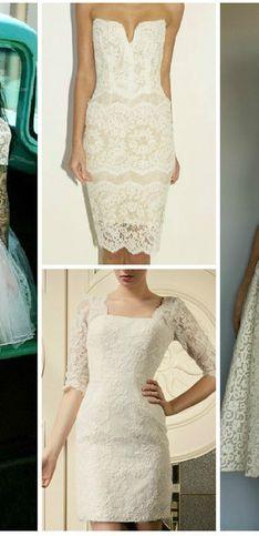 50+ vestidos para casamento no civil