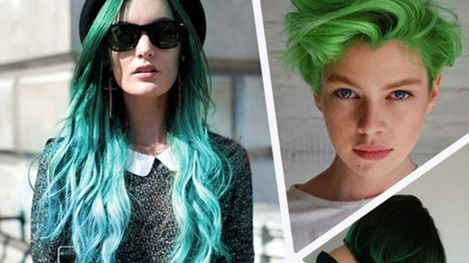 Hot or Not: Grüne Haare sind jetzt Trend!