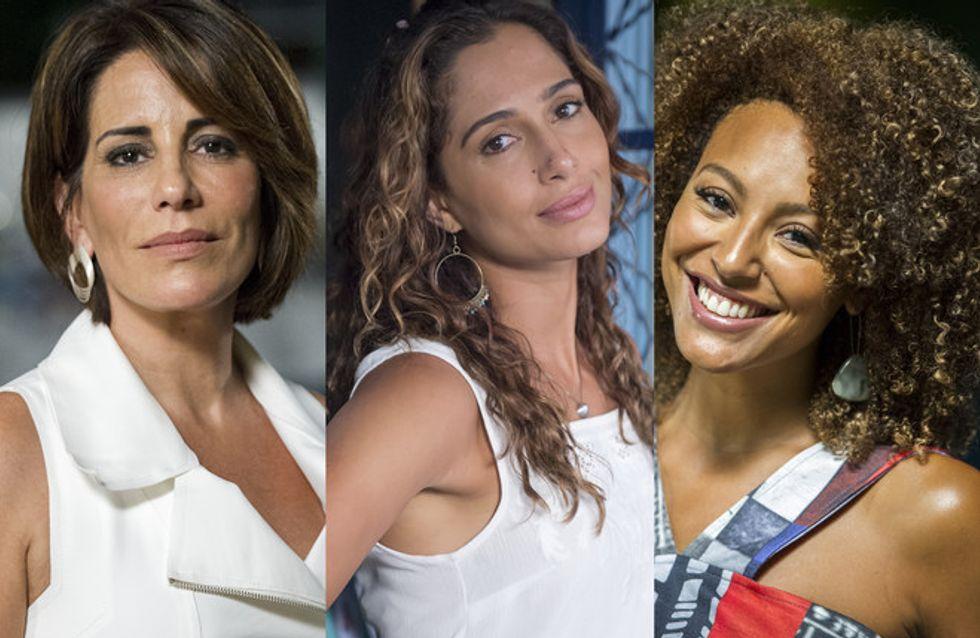 Os cabelos das atrizes da novela Babilônia