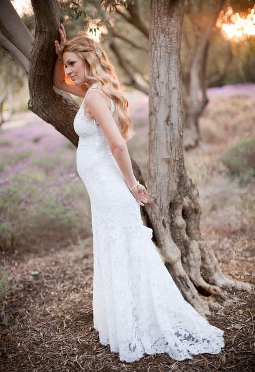 Grávida e linda no casamento: 40 vestidos de noiva para grávidas