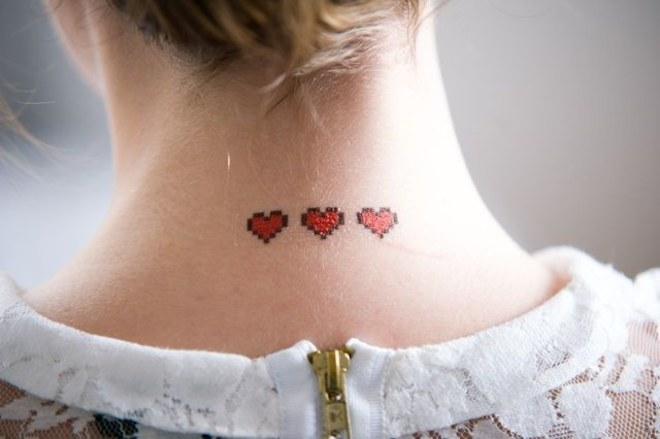 Conheça a tatuagem pixelada