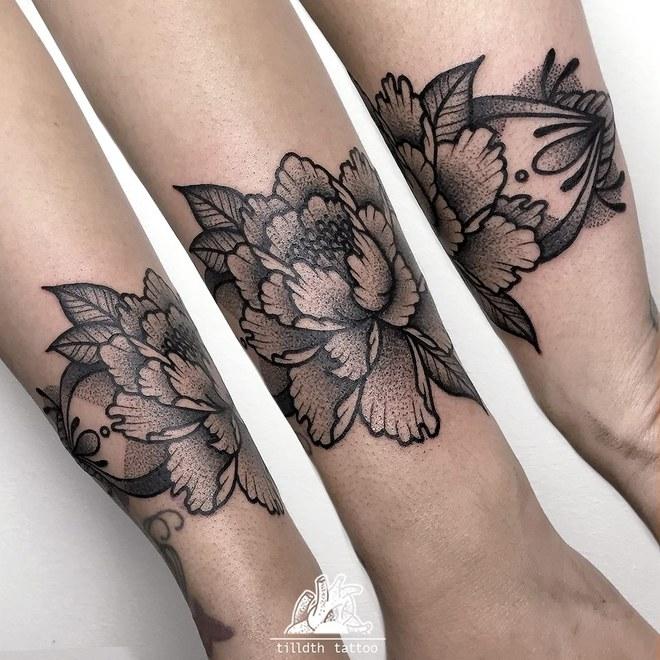 60 inspirações de tatuagem em pontilhismo