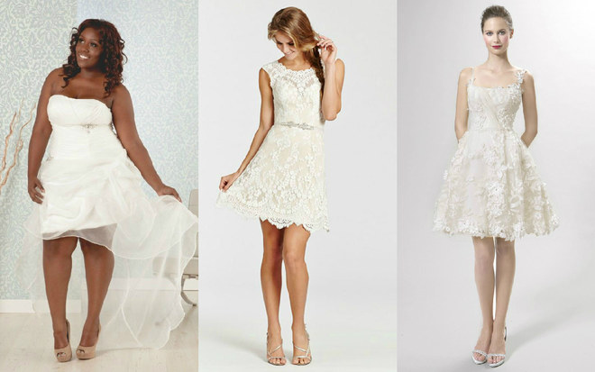 60 vestidos de noiva curtos e lindos!