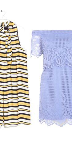 Gli abiti corti per l'estate: idee e colori in versione mini
