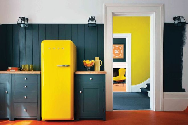 Voglio una casa giallo limone