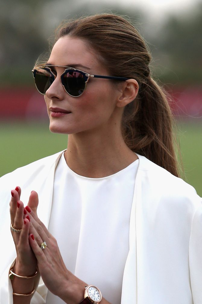 La queue de cheval d'Olivia Palermo