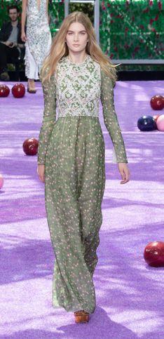 L'hiver médiéval et Haute Couture de Dior