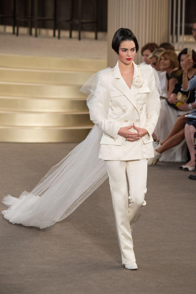 Le défilé Chanel Haute Couture Automne/Hiver 2015-2016
