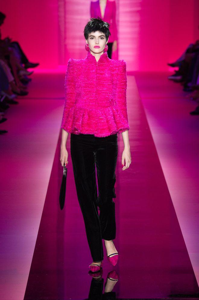 Le défilé Armani Privé AH 2015-2016 Haute Couture