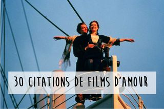 Les citations des films d'amour