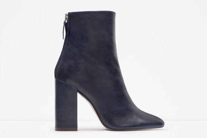 Les bottines Zara
