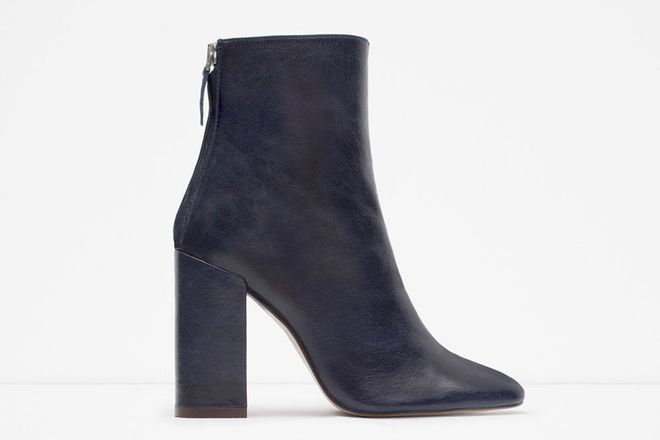 Les bottines Zara