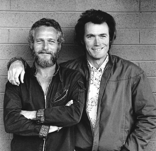 Clint Eastwood y Paul Newman