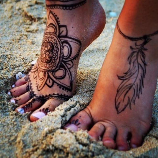 Tatuaggi Hennè: scopri i più belli