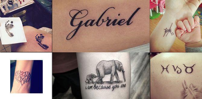 Tatuaggi per Mamme: i tatuaggi per ricordare la nascita di tuo figlio!