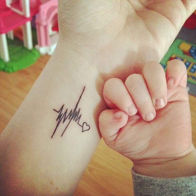 Tatuajes Para Madres Que Demuestran El Amor Por Los Hijos Foto