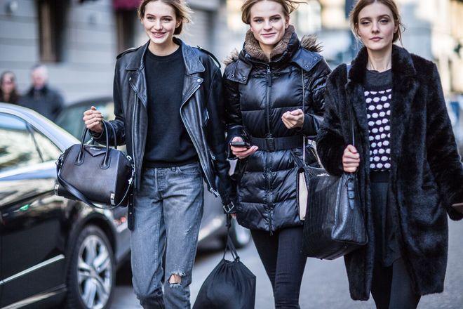 35 looks de street style con abrigo