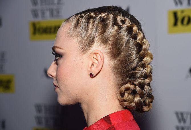 Amanda Seyfried -  Peinados efecto mojado