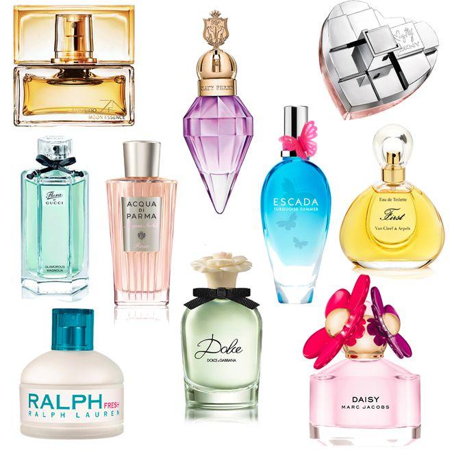 É primavera... E tem seleção de perfumes florais para entrar no clima da estação
