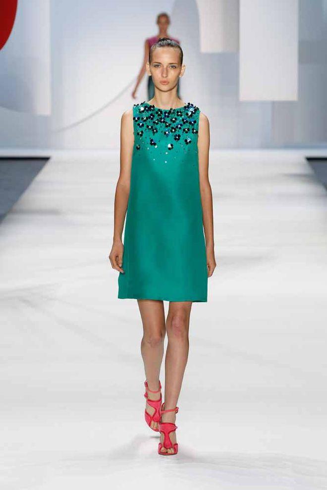 Monique Lhuillier: New York Fashion Week Primavera-Verano 2016