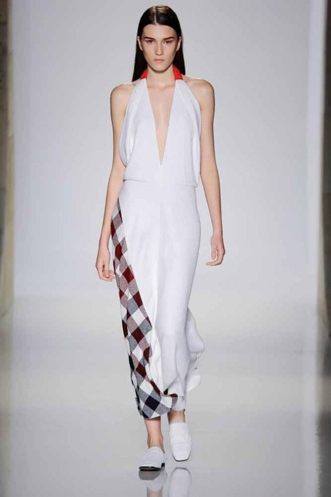 Victoria Beckham: Fashion Week New York, Frühjahr/Sommer 2016