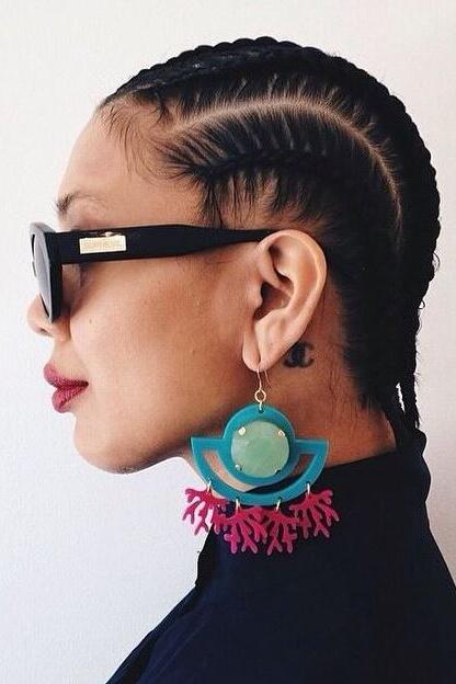 Tresse Africaine Les Plus Beaux Modeles Pour S 039 Inspirer