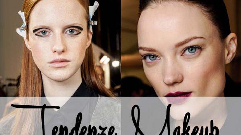 Labbra, occhi, guance: tutte le tendenze makeup per l'autunno-inverno 2015/2016