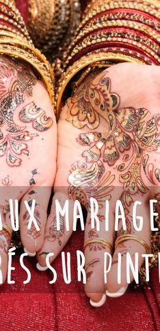 40 inspirations déco pour un mariage marocain repérées sur Pinterest