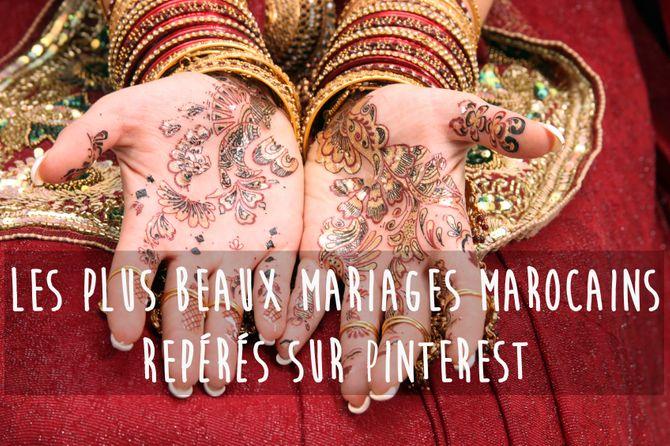 Les plus beaux mariages marocains