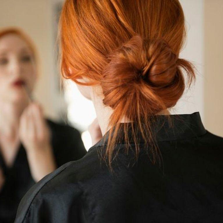 Peinados recogidos faciles para el trabajo