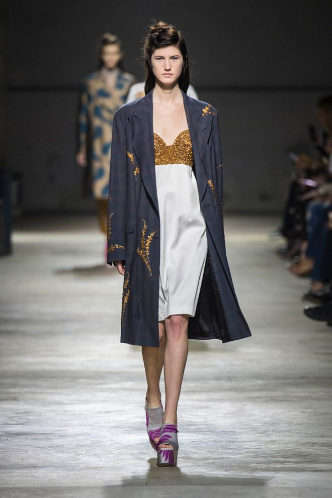 Dries Van Noten Parigi Fashion Week primavera estate 2016