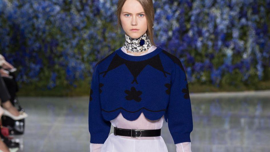 Les fleurs bleues de Dior