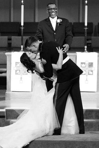 Die schönsten Hochzeitsküsse