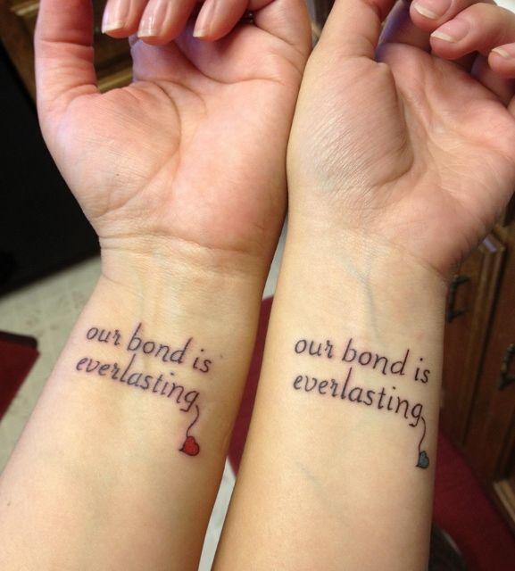 Sprüche partner tattoo ▷ Armband