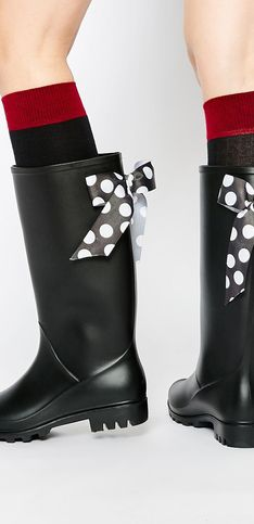 20 paires de bottes stylées pour affronter la pluie