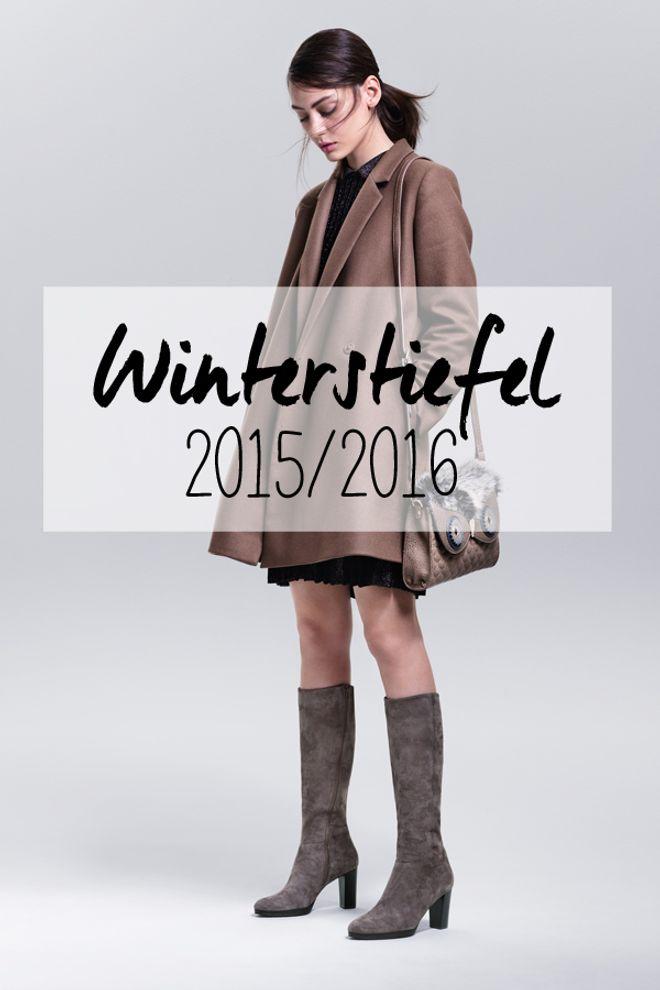 Zum Verlieben: Winterstiefel 2015/2016
