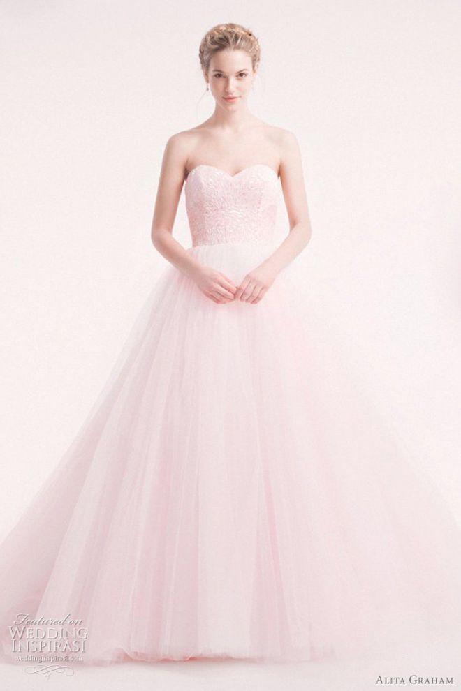 best sneakers 06e57 cd091 Vestiti da sposa rosa: un sogno romantico! : Album di foto ...