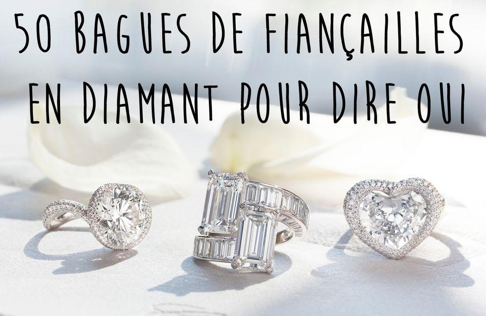 50 bagues de fiançailles en diamant pour dire oui