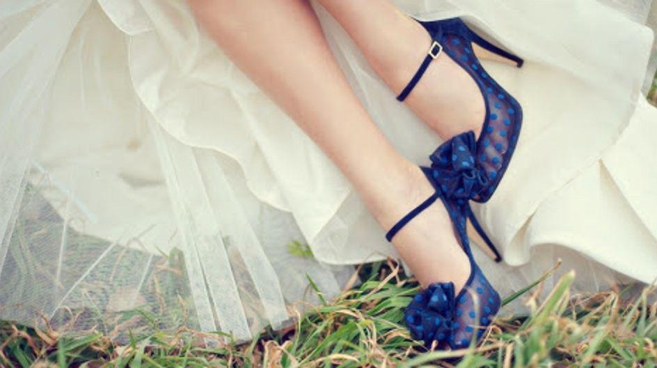 Scarpe da sposa colorate, originali, particolari: i modelli da sogno!