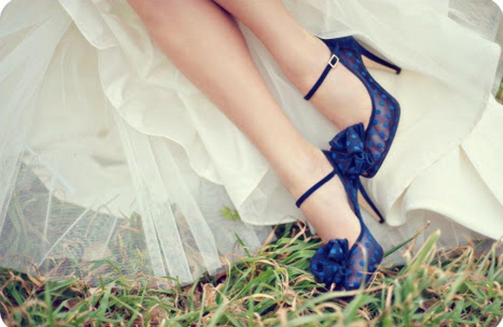 Scarpe Sposa Blu.Scarpe Da Sposa Colorate Originali Particolari I Modelli Da