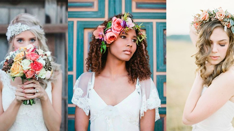 Penteados *pura magia* para noivas que não querem usar véu