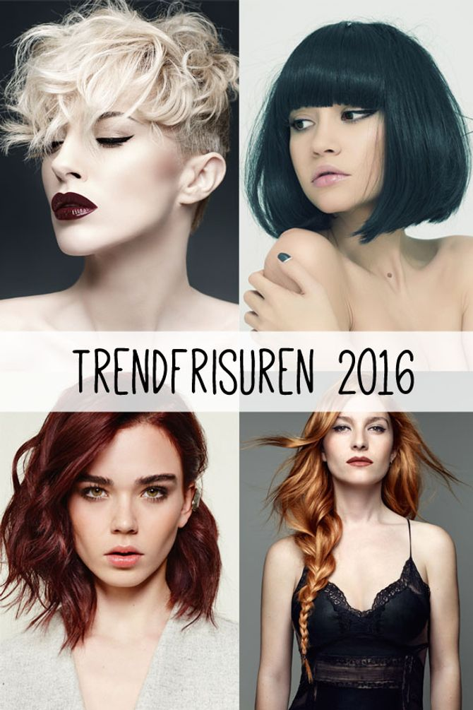 Trendfrisuren 2016: Hier kommen die neuen Looks & Cuts