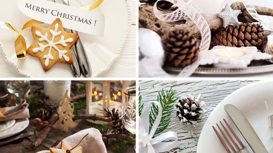 Une table de Noël canon avec toutes ces idées déco