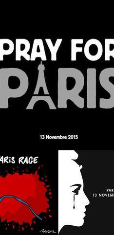 Attentats de Paris : Les plus beaux hommages en images
