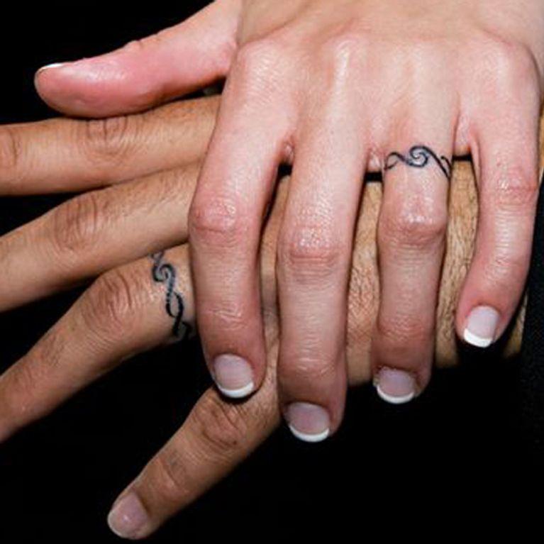 40 Tatuajes Que Sustituyen A Las Alianzas Tradicionales Foto