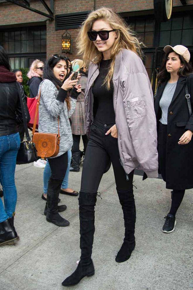 Cómo arrasar en streetstyle por Gigi Hadid