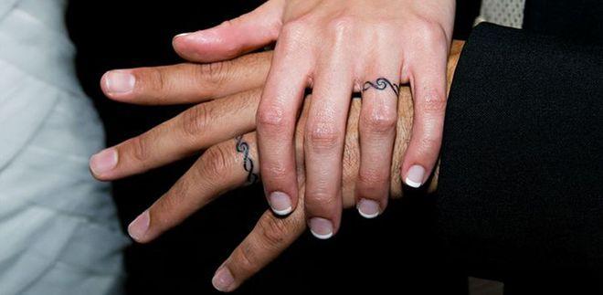 40 tatuajes que sustituyen a las alianzas tradicionales