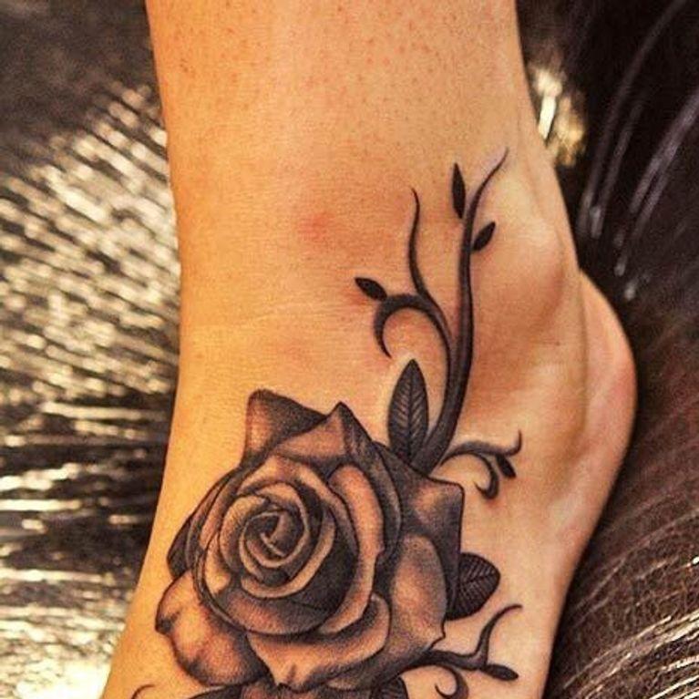 Tatuajes Para Pies Foto Enfemenino